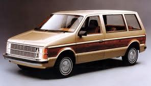 Ugly minivan